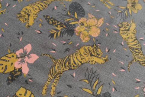 Tiger fabric