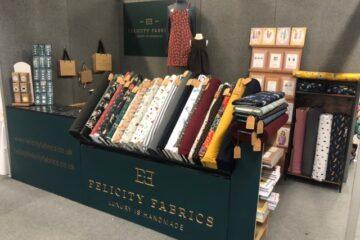 Felicity Fabrics stall